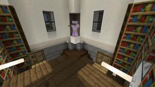 二階閲覧室2:アムール村図書館