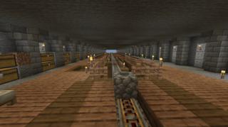 採掘場の構造