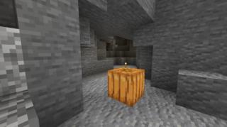 縦穴を下りたところ:牧場(仮)下の洞窟