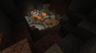 まだまだ奥は深そうです…:牧場(仮)下の洞窟