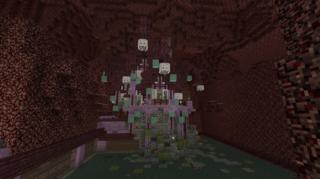 プリズマリン系のブロックが不自然