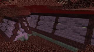 見えている部分の屋根:ネザー鉄道