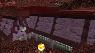 壁とその他装飾:ネザー鉄道